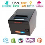 Imprimante multi plateformes restauration 80mm