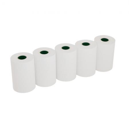 Lot 5 Bobines papier thermique 57x40x12 pour imprimante thermique 58MM