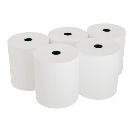 Lot 5 Bobines papier thermique 80mm